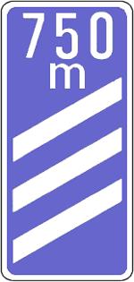 O4A - Sinal de aproximação de saída